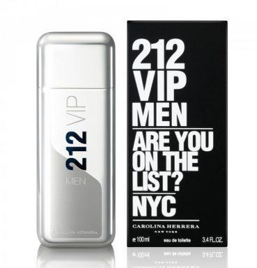 ادکلن 212 وی آی پی نقره ای - Carolina Herrera 212 VIP for men